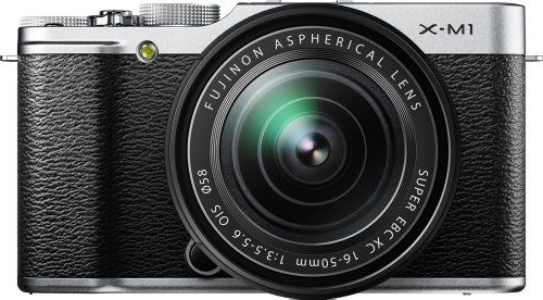 Fujifilm X-M1 Compact System 16MP Digital Camera Kit with 16-50mm Lens and 3-Inch LCD Screen (Silver) - http://allgoodies.net/fujifilm-x-m1-compact-system-16mp-digital-camera-kit-with-16-50mm-lens-and-3-inch-lcd-screen-silver/