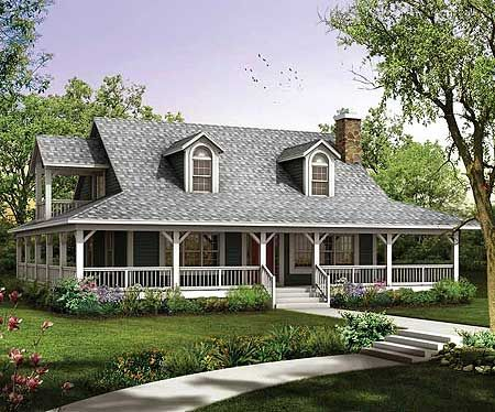 167 Best Images About One Story Ranch Farmhouses With Wrap