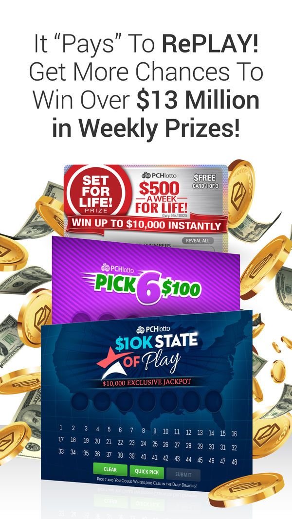 PCH Lotto - Real Cash Jackpots on the App Store | Play lottery in