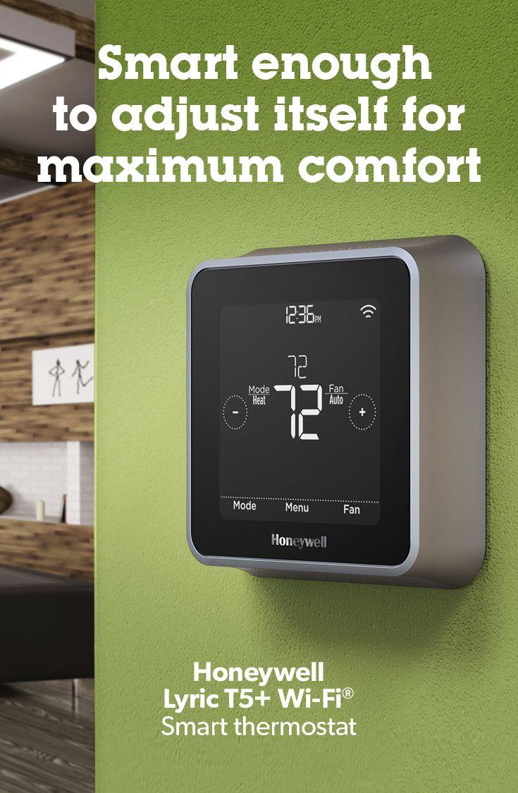 Honeywell Lyric T5 Wi Fi Smart Thermostat At Crutchfield In 2020 Smart Thermostats Honeywell Wifi