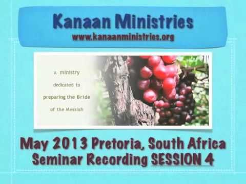SESSION 4 May 2013 Pretoria, South Africa Inner Healing Seminar