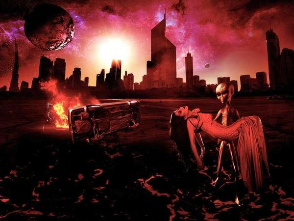 Apocalyptic Fashion Calendars - Peter Richweisz Uses the End of the World for Inspiration (GALLERY)