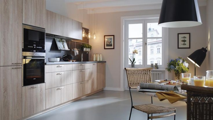 Bright Kitchen Interior Natural Nuance Kitchens Shops Oak Kitchens Kitchen Adapted Santos Ariane Ariane