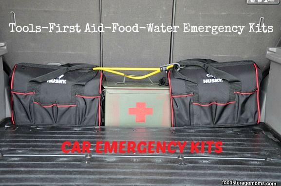 15 Food Items For Your Car Emergency Kit by Food Storage Moms