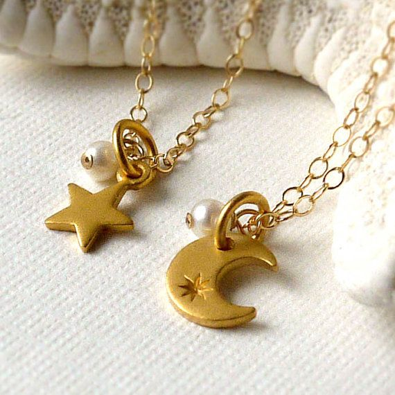 Mother & Daughter necklaces