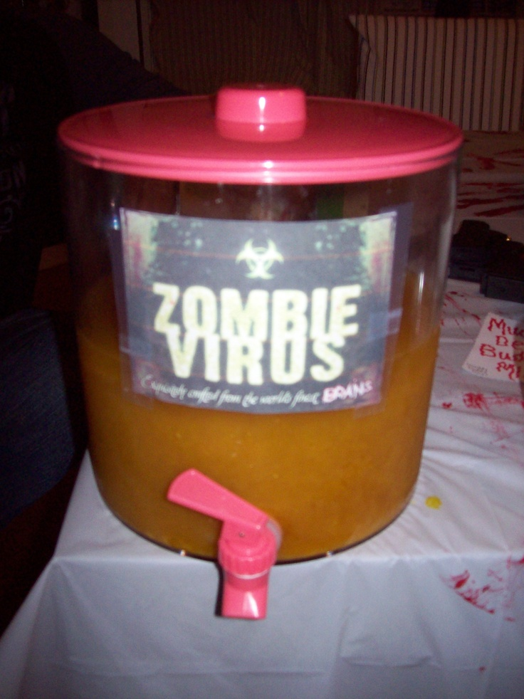 this drink was a huge hit! zombie drink recipe available on google.com.