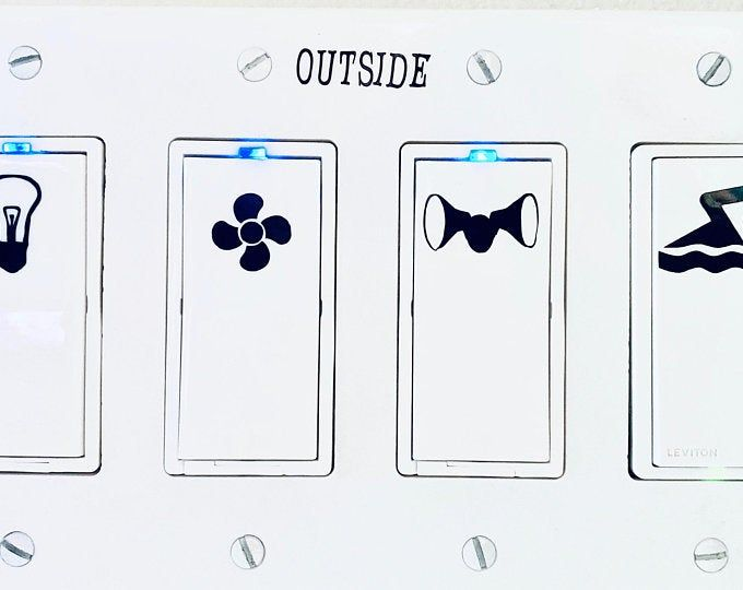 Light Switch Labels Light Switch Stickers Light Switch Etsy Light Switch Decal Light Switch Sticker Switch Decals