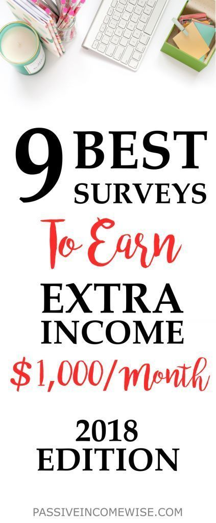 9 Best Paid Survey Sites to Make Money in 2018 – #…