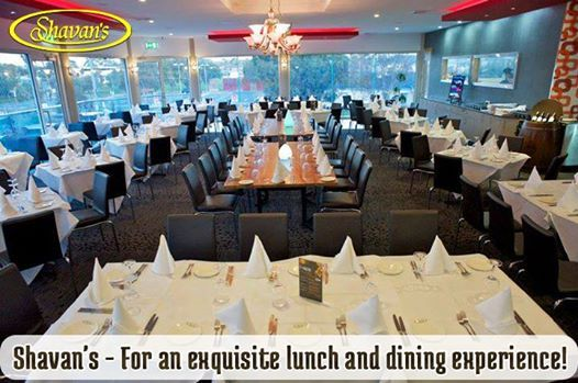 Shavan's - For an exquisite lunch and dining experience!  Come to Shavans Indian Restaurants and enjoy an unmatched taste of Indian food in a serene ambiance.  You can also book your wedding parties, business functions and all other events @ Shavan's!