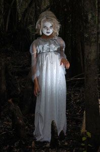 Ghost Halloween Costume - creepy child