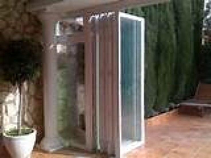 Resultado de imagen de tabiques moviles vidrio