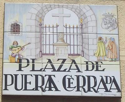 pocas ciudades tienen el encanto de sus placas como Madrid