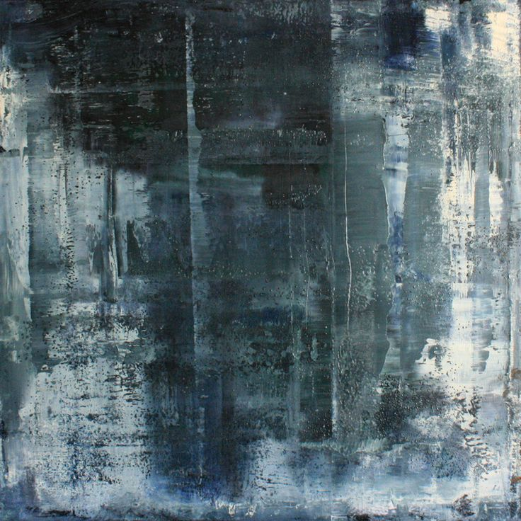 Koen Lybaert, abstract no 384.  A redition in Paynes grey..fantastic