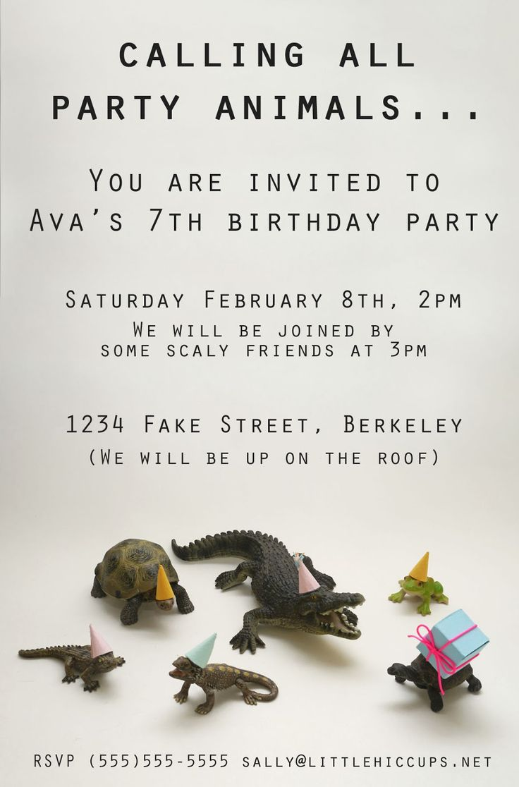 320 best Animal Party Invitations images on Pinterest | Animal party ...