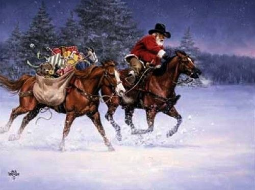 Christmas Rush by Jack Sorenson