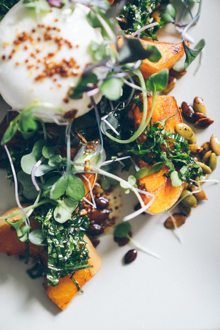 Butternut Squash Burrata Salad