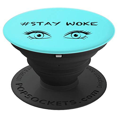 Popsockets Stay Woke Aqua Color Popsockets Grip And Https