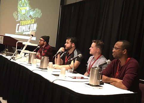 At Toronto Comicon 2018, Chapterhouse Comics held a panel with publisher Keith WTS Morris, Andrew Thomas creator of Auric of the Great White North, 'Fearless' Fred Kennedy  creator of The Fourth Planet, and Paris Alleyne creator of Haven. They discussed how books are produced, published and some of the obstacles of making your comic for the first time.