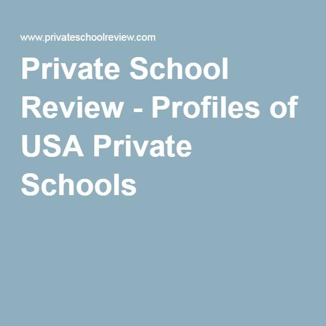 Private School Review - Profiles of USA Private Schools