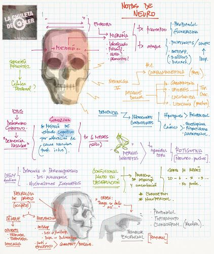 La Chuleta de Osler: Neurología: Notas sueltas - Deterioro cognitivo, cefalea y estenosis de carótida