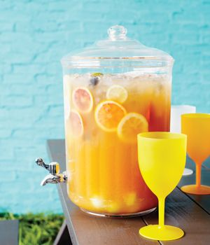 6 Crowd-Pleasing Summer Party Recipes—including real fruit punch, kid-friendly kebabs, and the best summer coleslaw.
