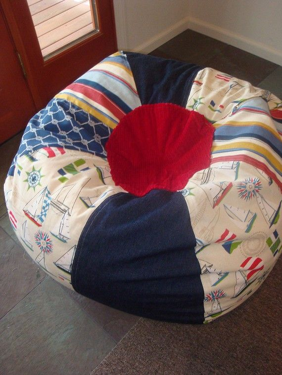 nautical bean bag chair              Great for the lake