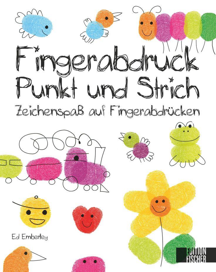 FINGERABDRUCK, PUNKT UND STRICH - Zeichenspaß auf Fingerabdrücken, Herausgegeben von Rahel Goldner, 80 Seiten, Hardcover, Format 22 x 28 cm, ISBN: 978-3-86355-075-2, Bestellnr.: 55075, 9,90€ (D) / 10,20€ (A), Bestellbar unter http://www.edition-m-fischer.de/index.php?id=20&tx_ttproducts_pi1[cat]=47&tx_ttproducts_pi1[backPID]=20&tx_ttproducts_pi1[product]=442&cHash=1c99d45645