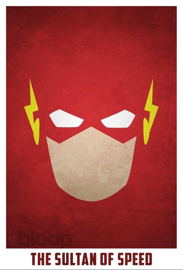 Minimalist Superheroes | GEEKPR0N