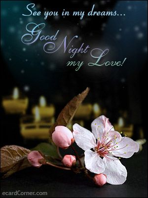 Good night sweet, and pleasant dreams!!! xxx :-)