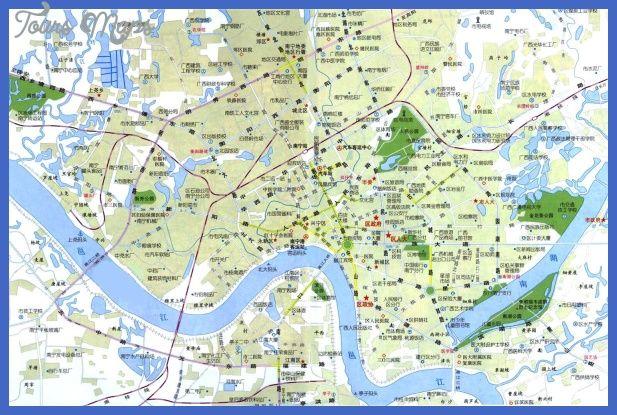 nice Nanning Metro Map