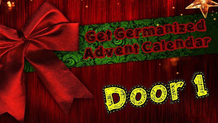 Door #1   Get Germanized Advent Calendar - 24 Days Of Free German Chocolate