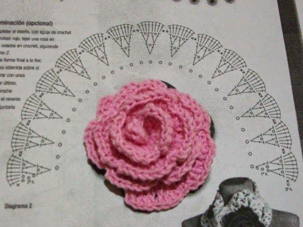 La ventana azul: 142.- Marca páginas a crochet flower ... - photo#34