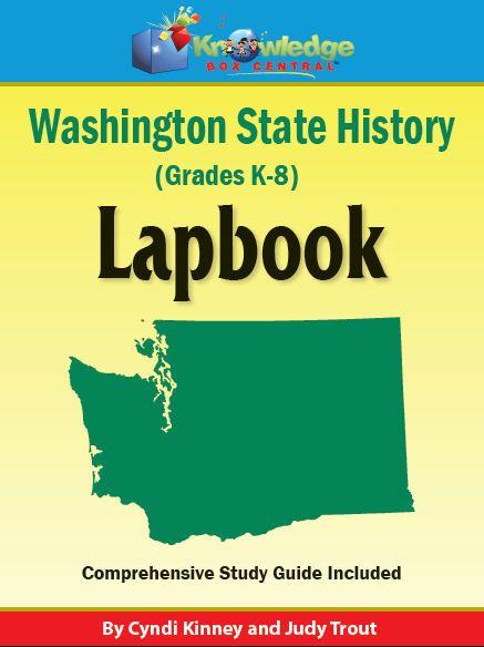 Washington State History Lapbook - Ebook