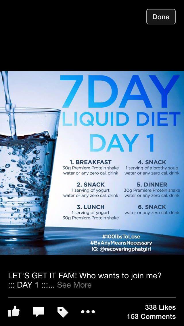 25+ best ideas about Liquid diet plan on Pinterest ...