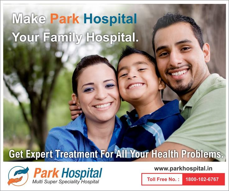 Make Park Hospital your family hospital. Get expert treatment for all your health problems. Book your appointment now!