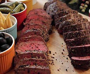 Peppercorn Roasted Beef Tenderloin Recipe : Ree Drummond : Food Network