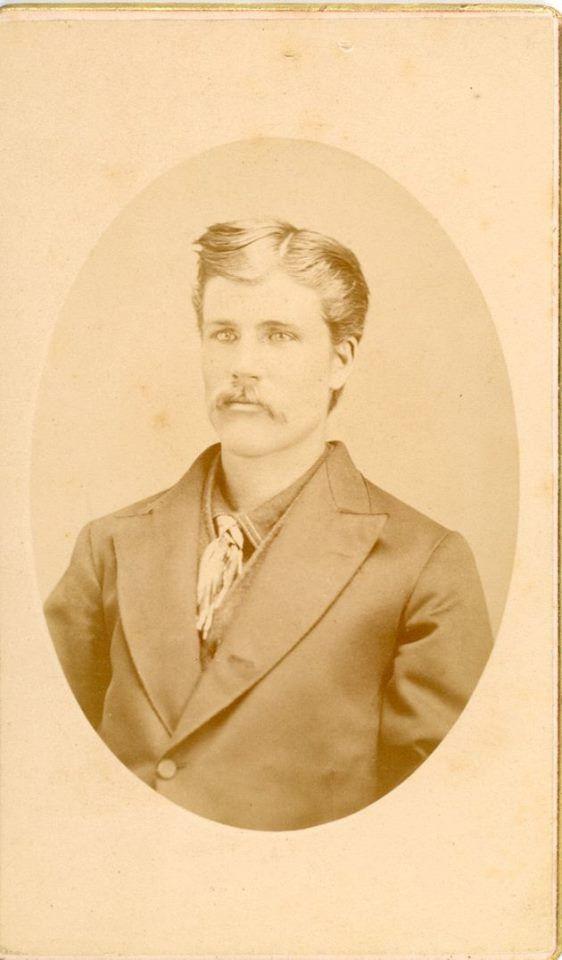 Boise City, Idaho photographer Isaac B. Curry. Unknown CDV Cabinet Card.