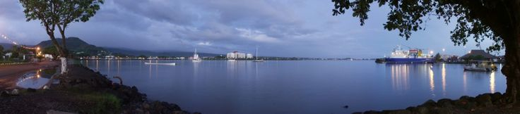 Port of Apia today