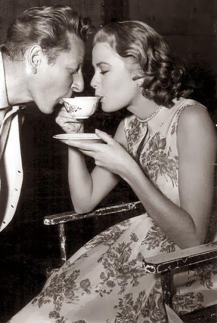 Danny Kaye & Grace Kelly