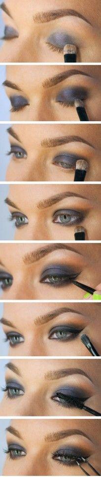 makeup  blu