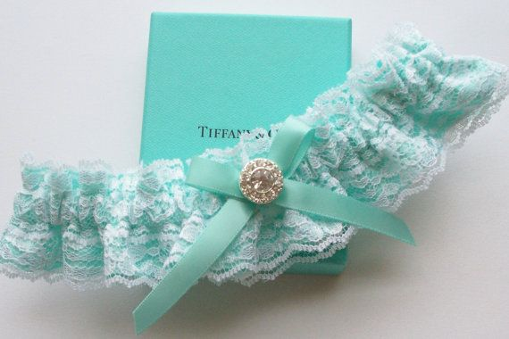 Tiffany Blue Wedding Garter From J L Weddings, an Etsy store.  Please mention you found them thru Jevel Wedding Planning's Pinterest Account.  Keywords:  #tiffanybluethemedweddingideas #tiffanyblueweddinggarter #jevelweddingplanning Follow Us: www.jevelweddingplanning.com  www.facebook.com/jevelweddingplanning/