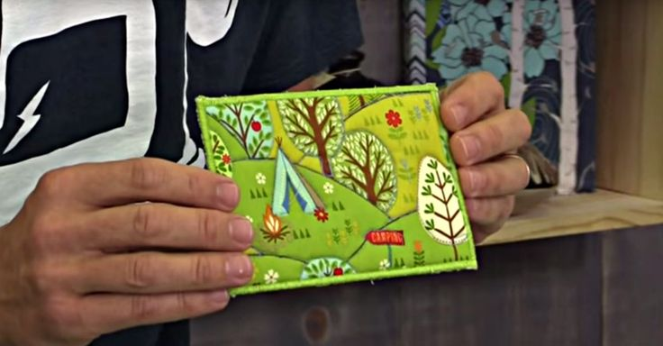 Sending Out A Thank You Note? Try A Fabric Postcard Instead!