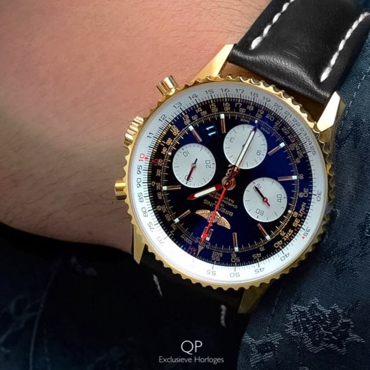 The #Navitimer 01 certainly can be seen as the #flagship in #Breitlings comprehensive collection of the worlds most luxurious #chronographs. In terms its #design, extensive abilities, the use of the most precious materials and Breitlings rich #heritage, it goes without saying that the Navitimer 01 is world famous!