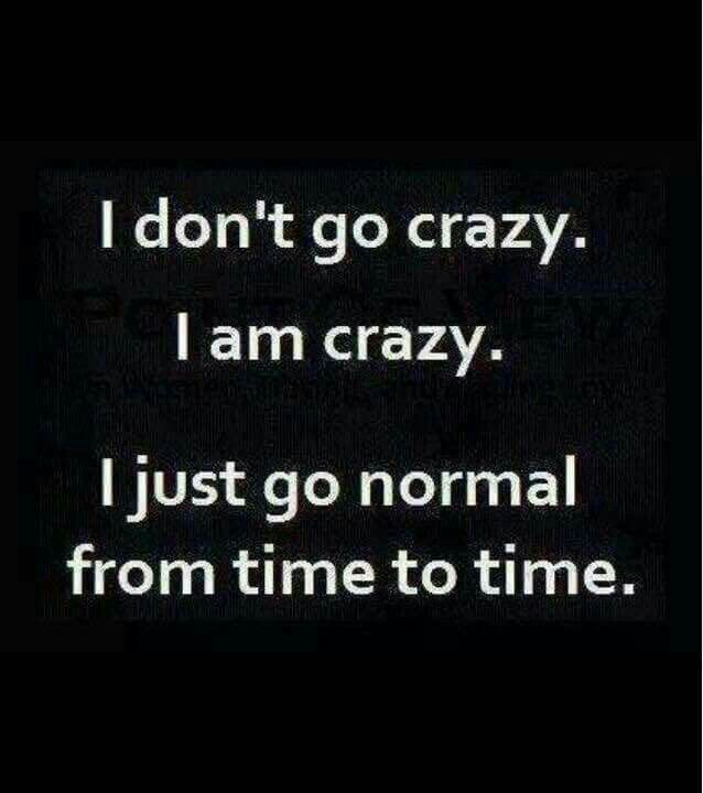 Lol but normal is just a setting on a washing machine