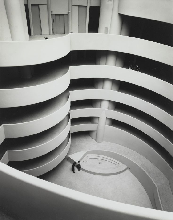 The Guggenheim, Almost Empty - 1959 - Ezra Stoller.
