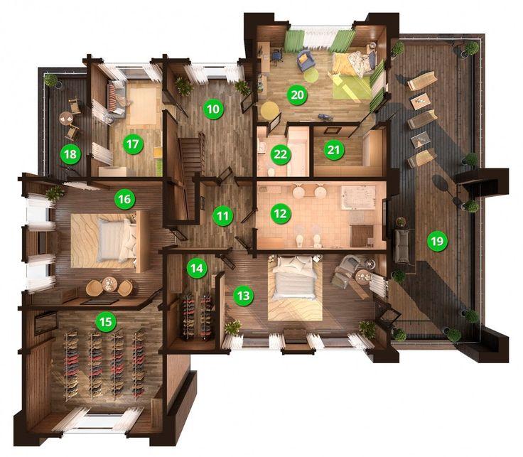 «VANG» - Дом в стиле хайтек 21-19 метров