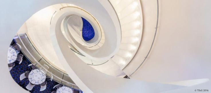 TDoS Design for Tui Cruises, Mein Schiff 4 - Staircase