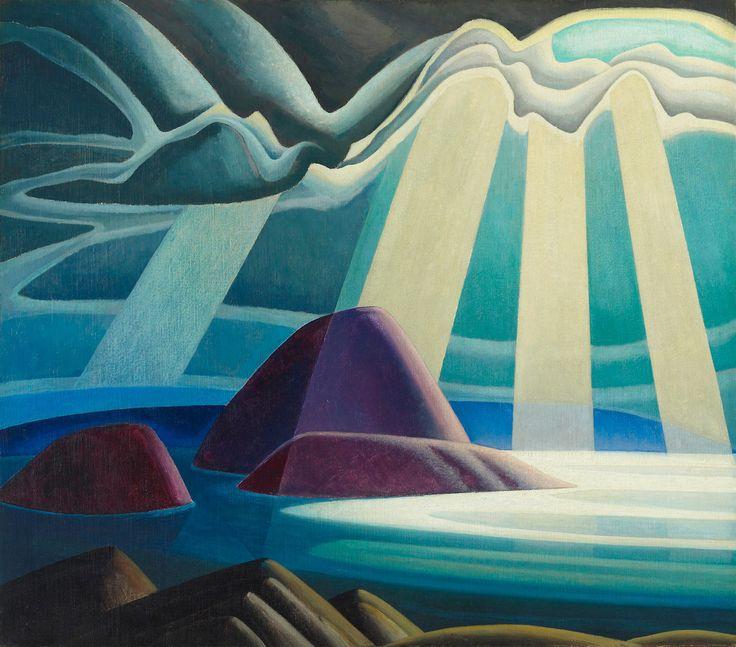 "inland-delta: ""Lawren Harris, Lake Superior, c 1923 """