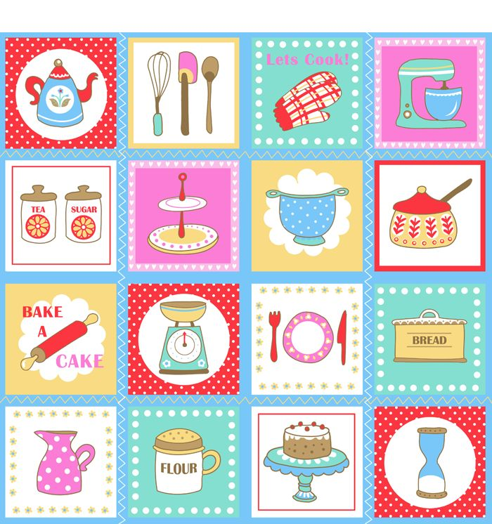 Best 25 Printable Kitchen Prints Ideas On Pinterest: 97 Best Images About Kitchen Clipart On Pinterest