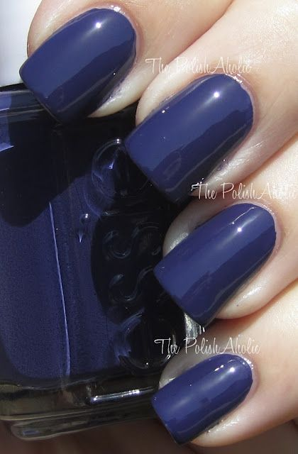 Essie No More Film. I think this is one of the only shades of blue nail polish I would wear! @mariellabrownp